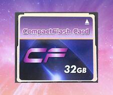 32 Go Compact Flash Carte Mémoire CF appareil photo reflex numérique nouveau 300x 45mb/s VITESSE