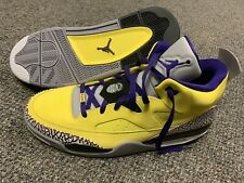 AIR JORDAN SON OF MARS YELLOW Sample Pair You Won't Find This Size 15
