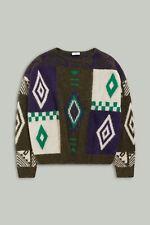 ✭ CLOSED ✭ Mexican Knit Sweater ✭ ALPAKA  ✭ Multi Color ✭ S ✭ wie NEU ✭