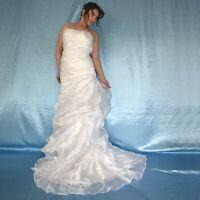 Sans Bretelles Corsets Robe de Mariée avec Tulle * S (36) * Mariée, Bal