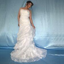Sans Bretelles Corsets Robe de Mariée avec Tulle * XS (34) * Mariée, Bal