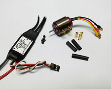 k038K- 1 set B2030 BL Motor S2.3 KV4000 w/water cooling & 30A ESC for RC Boat