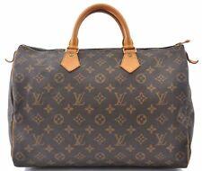 Authentic Louis Vuitton Monogram Speedy35 Hand Bag M41524 LV B2903