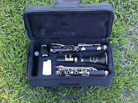 B FLAT CLARINET-NEW CONCERT MODEL BAND CLARINETS-with YAMAHA PADS-NEW