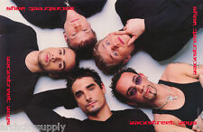 POSTER :MUSIC: BACKSTREET BOYS  - ALL 5 LAYING DOWN -FREE SHIPPING  #7534 LP35 O