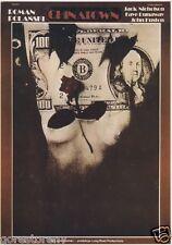 Chinatown Movie Poster Roman Polanski Czech Polish Rare Art