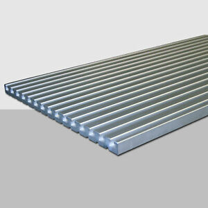 T-Nutenplatten 375 x 20mm massiv verschiedene Längen