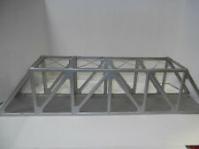 "Vintage 24"" METAL TRESTLE GIRDER BRIDGE. O Gauge."