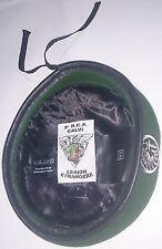 Béret Vert avec insigne TAP PARA 2°REP LÉGION ÉTRANGÈRE Taille * Size L / TT 58