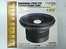 Raynox DCR-FE-180PRO DIAGONAL FISH-EYE CONVERSION LENS Mounting thread 62mm