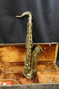 Vintage Selmer Pre-Cigar Cutter Tenor Saxophone