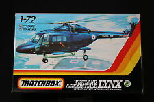 YM036 MATCHBOX 1/72 maquette helicoptere 40108 Westland Aerospatiale Lynx