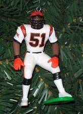 Takeo Spikes CINCINNATI BENGALS Christmas tree ornament NFL football figure