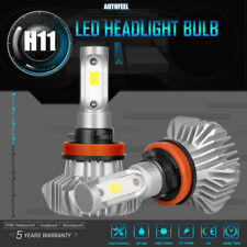 H11 H8 H9 1150W 172500LM LED Headlight Bulbs White 6500K HeadLamps US Stock 2pcs