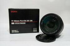 Sigma 17-50/2.8 SA mount lens. (for Sigma SD cameras!)