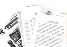 vintage 1978 Datsun 510 Sedan/Wagon Press Kit Photo's from ? Brochure + Spec's +