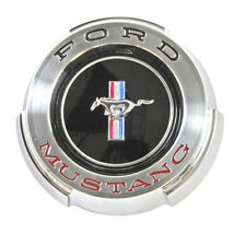 NEW! 1965 Ford Mustang Gas Cap Chrome Twist on with cable Made by Scott Drake