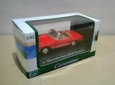 CARARAMA (251) RED MERCEDES-BENZ 280SL ROADSTER 1:43