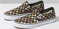 Vans Classic Slip-On Checkerboard Skate Shoes Men's Size 7.5 CAMO DESERT