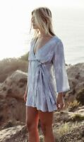 BNWT BILLABONG LADIES 2018 SWAY PALM WRAP DRESS SIZE 10 RRP $90