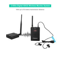 Wireless Audio In Ear Monitor System Stage Monitoring 1*Transmitter + 1*Receiver