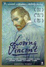 Loving Vincent (2017) A5 Poster - Aidan Turner, Saoirse Ronan, Chris O'Dowd