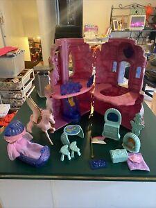 Vintage MOTU She-ra Shera Princess Of Power POP Crystal Castle & Accessories