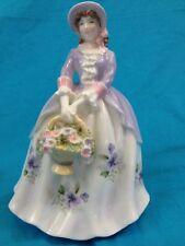 Royal Worcester Compton & Woodhouse 1995 Sweet Pansy Bone China Figurine