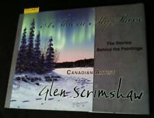2010 Glen SCRIMSHAW: A MILE IN MY SHOES, Western Canadian Nature artist *SIGNED*