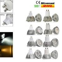 GU10 MR16 3W 4W 6W 8W 9W Blanc Chaud Blanc froid Ampoule LED Ampoule Projecteur