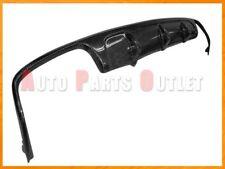V Type Carbon Fiber Rear Diffuser For 2011-2013 M-BENZ E250 E350 E550 Sedan