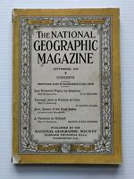 National Geographic Magazine - September  1929 - A Vacation In Holland