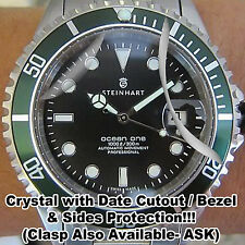 For Steinhart Ocean 1 HD Clear Crystal Bezel Sides Protector anti-scratch Set 2