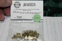 G Scale Jim Watson  Brass parts,Roof end walk support #7138, (2) Brass, NEW