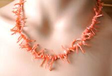 Astkorallen  Kette 40 cm / Beautiful Genuine Coral Necklace