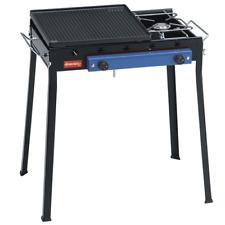Barbecue acciaio combinato Ferraboli 92 ghisa gas gpl piastra griglia BBP Rotex