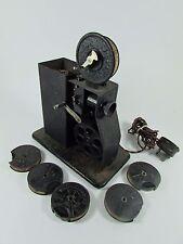 Pathescope Film Projector & Six Reels c.1930s