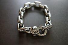 Good Art Hlywd #4 Bear Link Bracelet with Brown Diamonds in Rosette