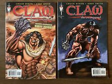 Claw The Unconquered #1,2 Chuck Dixon Andy Smith 1st Print
