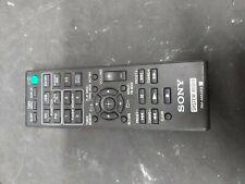 SONY RM-AMU212 Audio Remote For CMT-X3CD CMT-SBT20 HCD-SBT20 NO BACK (R016)