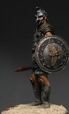 Tin soldier, museum, Roman Gladiator, General Maximus, SPANIARD, 75 mm