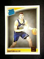 2018-19 Donruss Rated Rookie card #156 GRAYSON ALLEN RC Utah Jazz