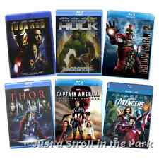 Marvel Cinematic Universe MCU Phase 1 Avengers Assembled Box / BluRay Set(s) NEW