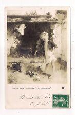 """salons 1908 ,h.darien """"les poussins"""""""