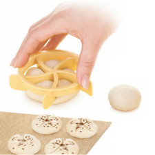 1pcs Bread Rolls Mold Pastry Cutter Dough Cookie Press Cake Biscuit Stamp Mould