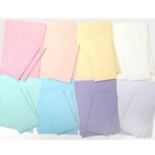 Rainbow Pastel Color Letter set -32sh Writing Stationery Paper 16sh Envelope V.2