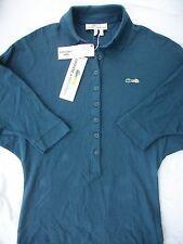 Lacoste Malandrino Dolman Sleeve Polo Shirt Abyss Blue NEW Womens S