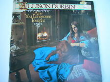 Allison Durbin – Are You Lonesome Tonight LP