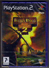 PS2 Robin Hood 2 The Siege (2006), UK Pal, New & Sony Factory Sealed