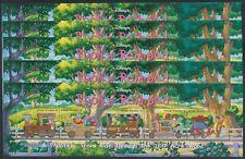 H817. 5x Grenada - MNH - Animation - Disney - Trains - Pooh's Railroad